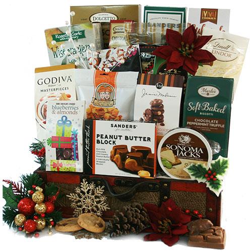 Christmas Gala Christmas Basket
