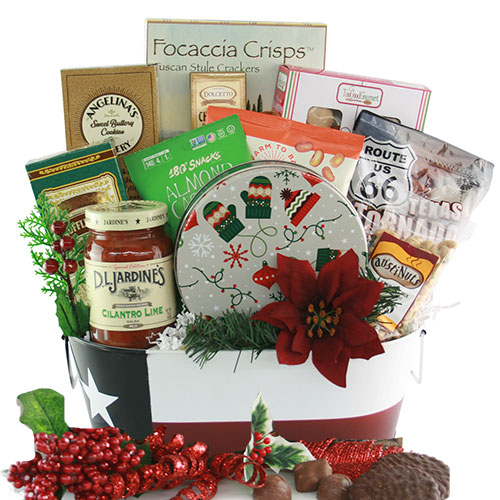 Christmas in Texas Gift Basket