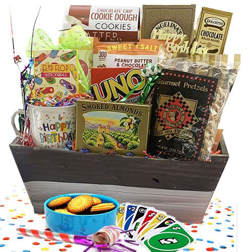 It s Your Birthday Birthday Gift Basket