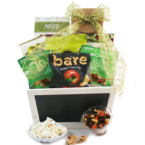 Here s to good health Healthy Gift Basket