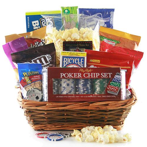 Poker Face – Poker Gift Basket