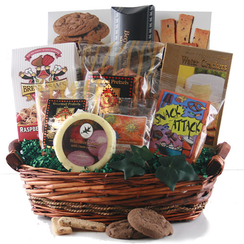 Thoughts of you sympathy gift basket