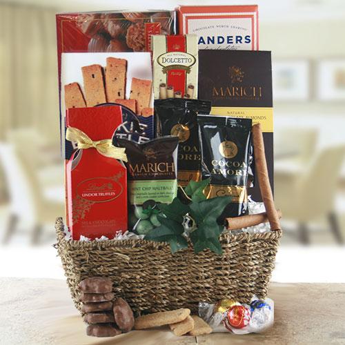 Choco – holic – Chocolate Gift Basket