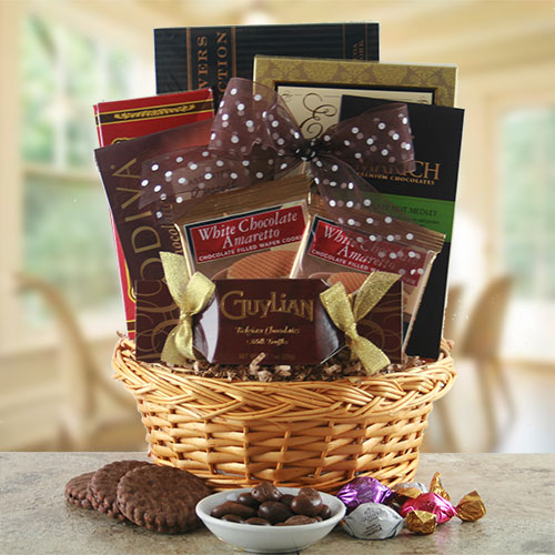 Chocolate Galore – Chocolate Gift Basket