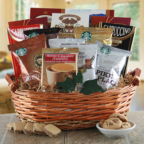 Caffiene Rush – Coffee Gift Basket