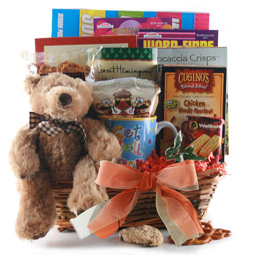Get Well Soon - Get Well Gift Basket