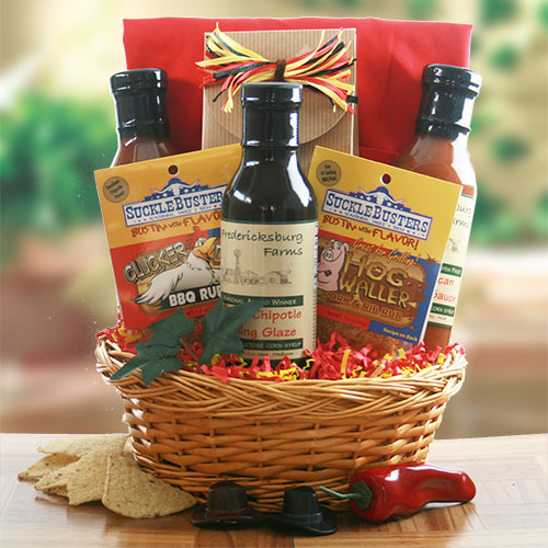 Master of the Grill – Grilling Gift Basket