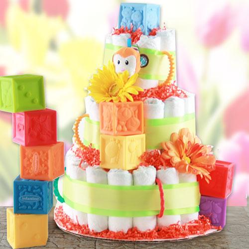 Play Time - Diaper Cake