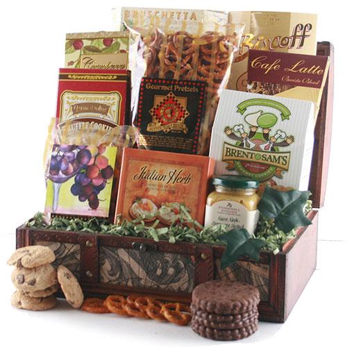 Gourmet Treasures - Gourmet gift Basket