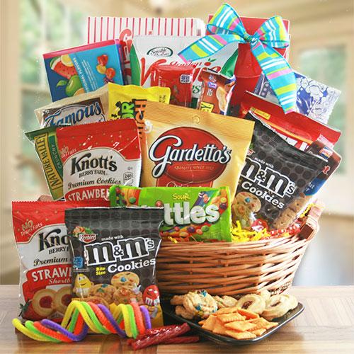 Sweet & Savory - Snack Gift Basket