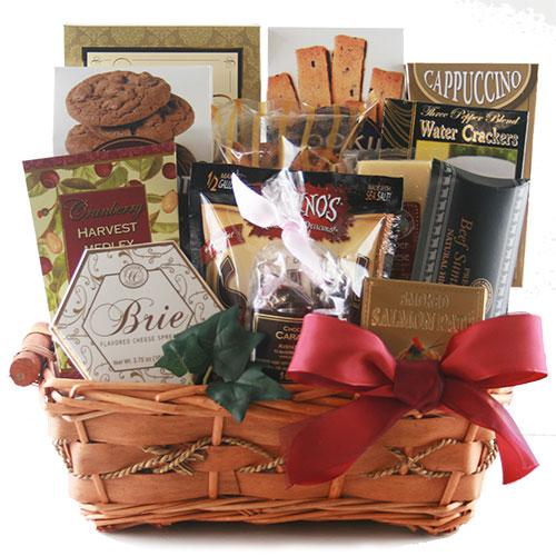 Tasteful Greetings - Gourmet Gift Basket