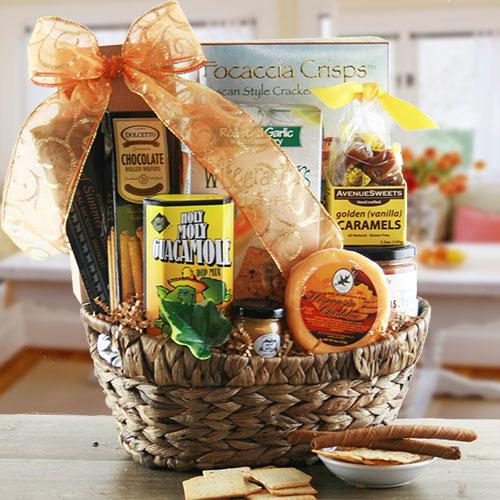 Bountiful Snacking - Snack Gift Basket