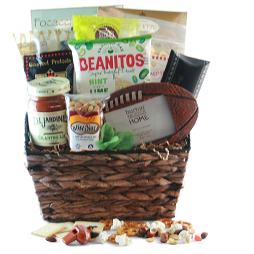 Touchdown – Sports Gift Basket