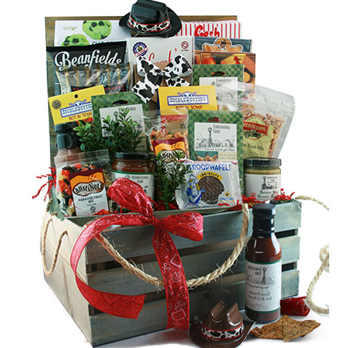 How Sweet It Is –  Red Wine Gift Basket