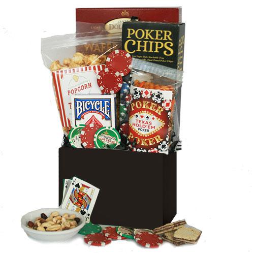 Boys Night Out – Poker Gift Basket