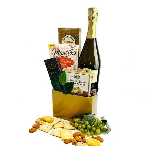 Champagne Taste - Wine Gift Basket