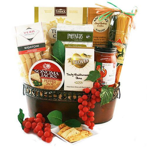 Dinner for Two – Italian Gift Basket