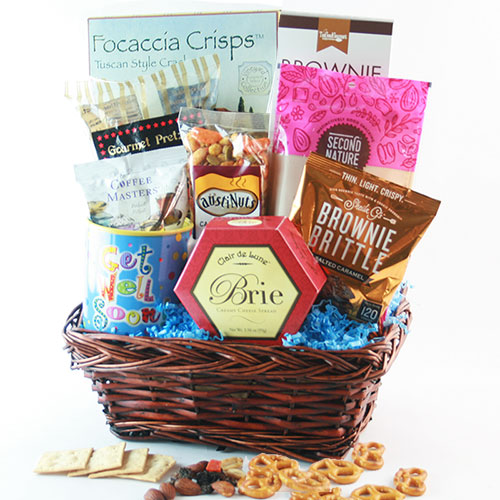 Docs Get Well Gift Basket - Get Well Gift Basket