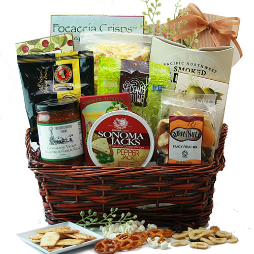 Gourmet food gift baskets for all occasions