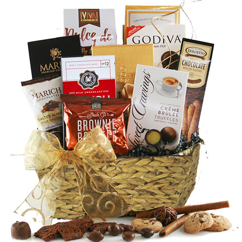 For the love of Chocolate – Chocolate Gift Basket