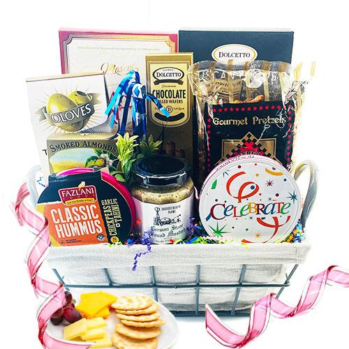 Gourmet Birthday – Birthday Gift Basket