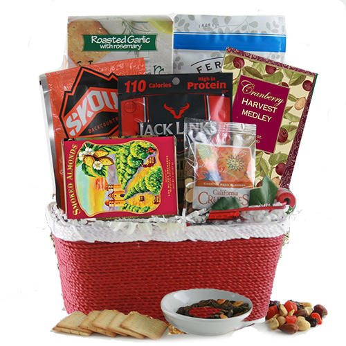 Healthy for You – Healthy Gift Basket