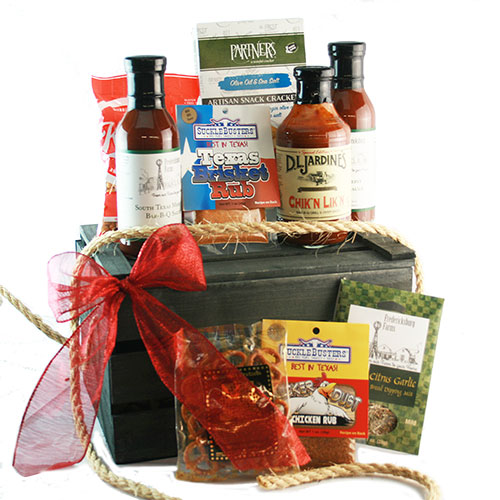 Hot off the Grill – Grilling Gift Basket