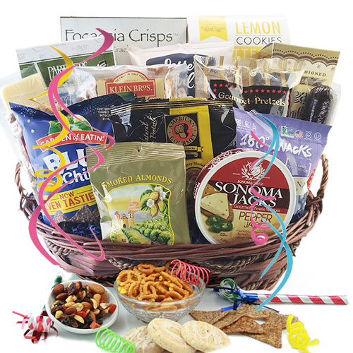 Party Pleaser – Food Gift Basket