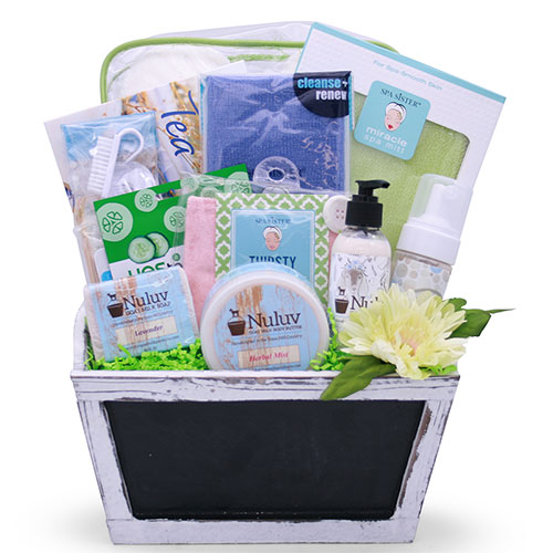 Spa Getaway – Spa Gift Basket
