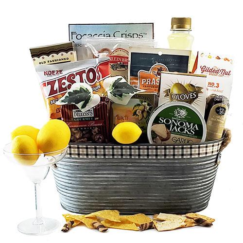 Top Shelf – Margarita Gift Basket