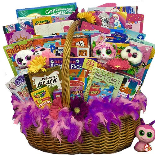 Corporate Beanie Boo Gift Basket