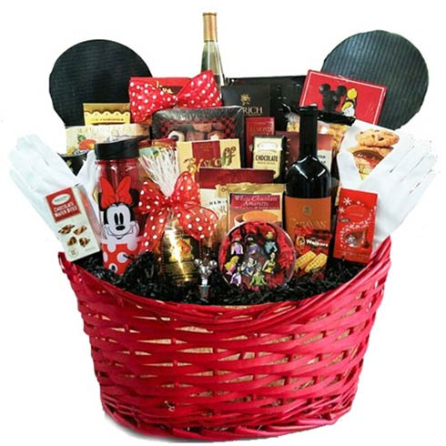 Corporate Mickey Gift Basket