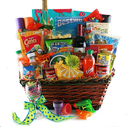 Corporate Pool Party Gift Basket