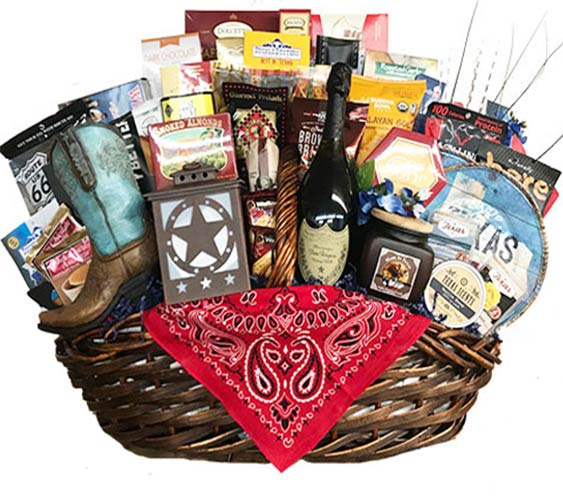 Corporate Texas Gift Basket